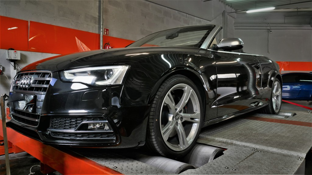 CHIPTUNING AUDI S5 B8 333KM - STAGE 1