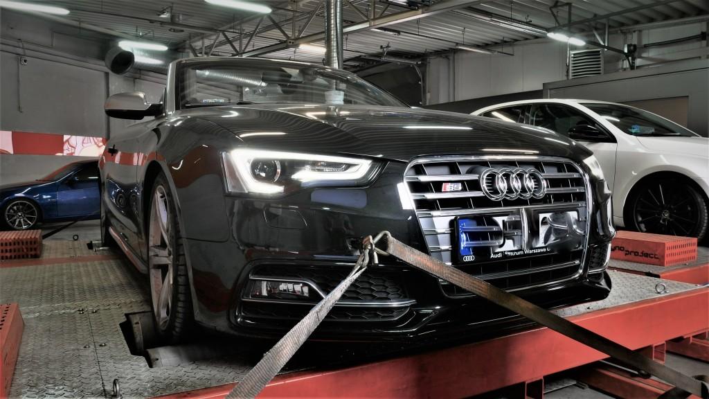 Chiptuning Audi S5 3.0TFSI 333KM