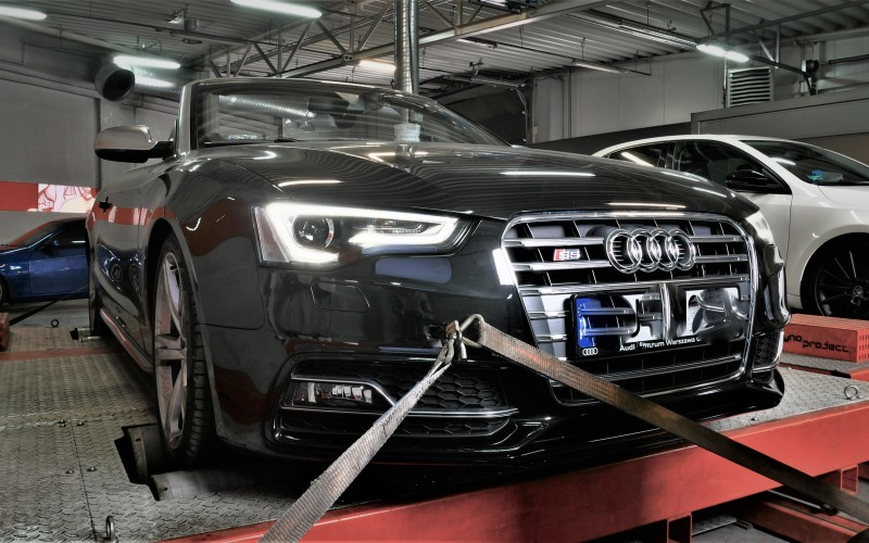 CHIP TUNING AUDI S5 3.0 TFSI 333KM – STAGE 1