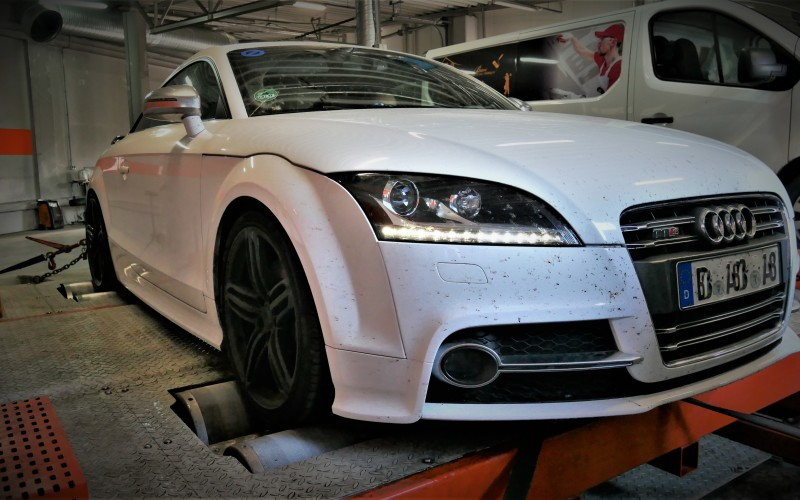 CHIPTUNING Audi TTS 8J 2.0TFSI 272KM – STAGE 2