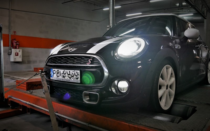 CHIPTUNING MINI COOPER S F56 192KM – STAGE 1