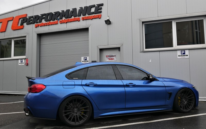 CHIPTUNING BMW 435i F36 306KM – STAGE 3