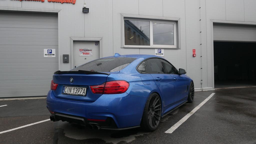 Modyfikacja BMW 435i 306KM stage 3