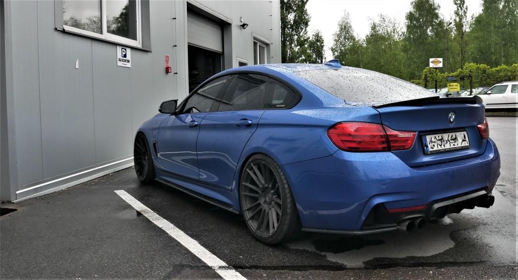 Chip Tuning BMW f36 435i