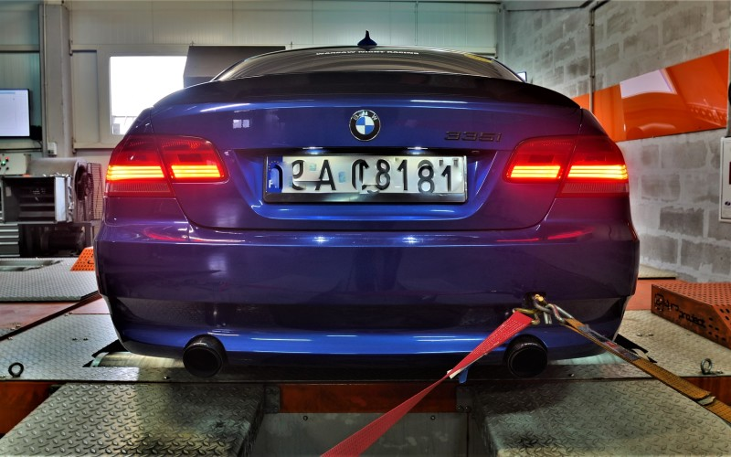 CHIPTUNING BMW E92 335i 306KM – stage 2