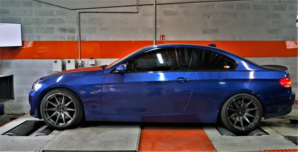 CHIPTUNING BMW E92 335i 306KM - stage 2