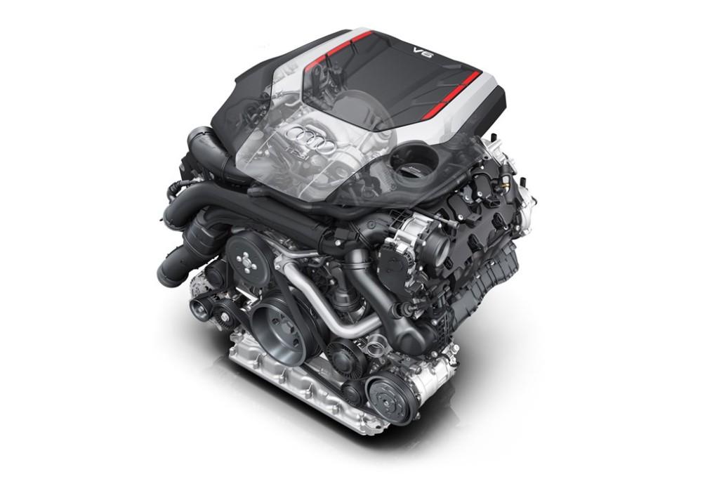 Audi S5 CWDG engine