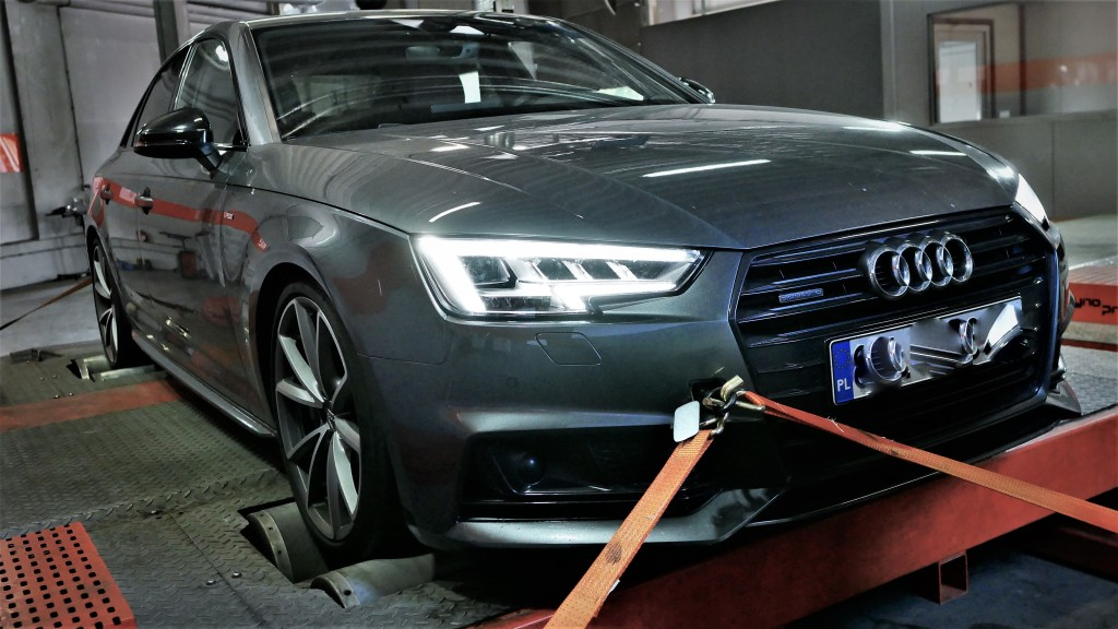 Chip Tuning audi A4 B9 252KM stage 3 is20