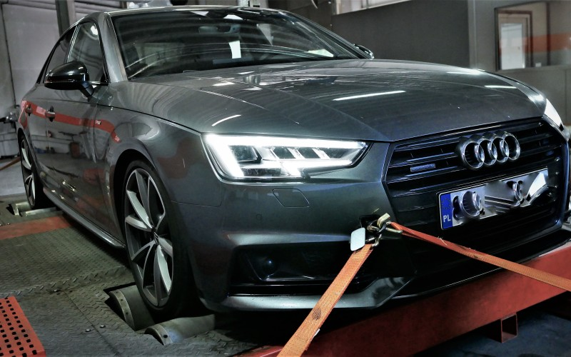 CHIPTUNING AUDI A4 B9 2.0TFSI 252KM – STAGE 2 STAGE 3