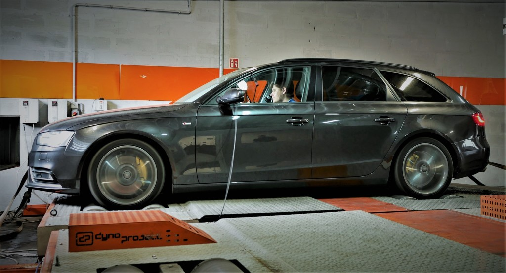 Chip Tuning audi A4 B9 252KM stage 3