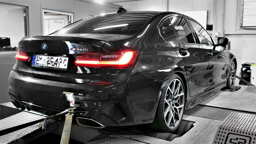 BMW G20 M340i podniesienie mocy