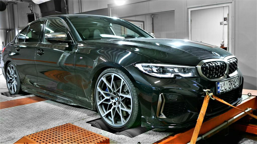 BMW G20 M340i hamownia