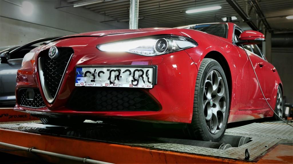 Chip Tuning Alfa Romeo GIULIA 2.0T