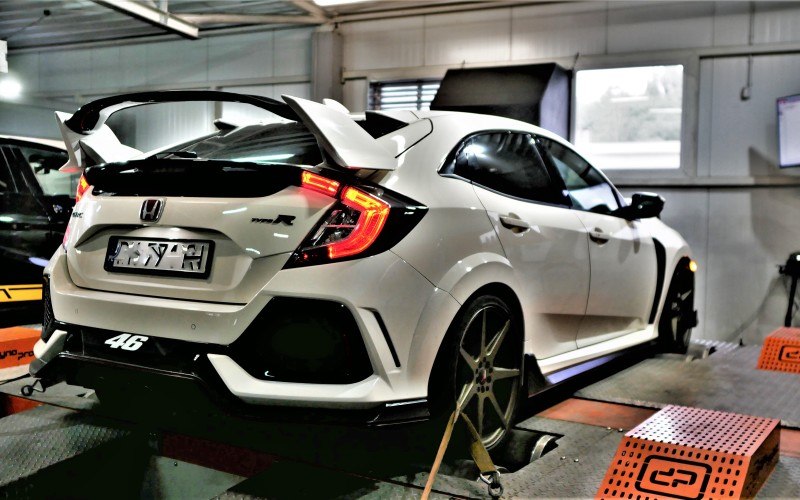 CHIPTUNING HONDA CIVIC TYPE R FK8 – 2.0T 310KM – STAGE 2