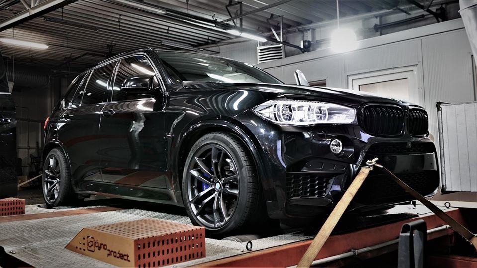 Chip tuning BMW X5M S63B44