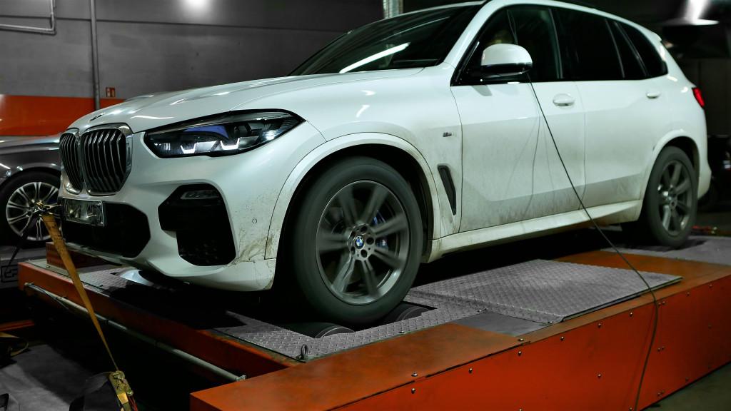 CHIPTUNING BMW G05 X5 30D 265KM