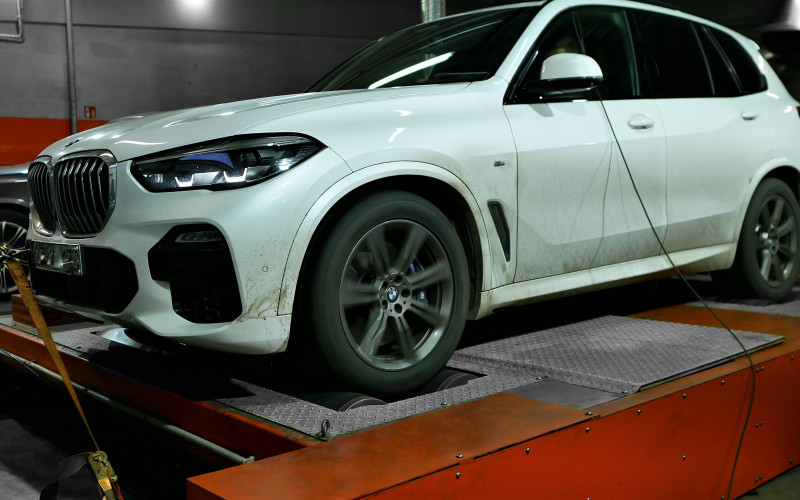 CHIPTUNING BMW G05 X5 30d 265KM- STAGE 1