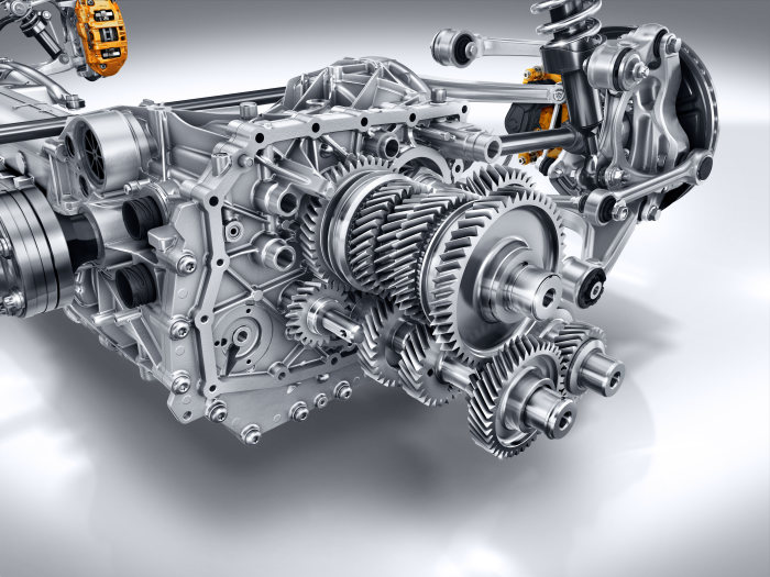 AMG GT Transaxle gearbox