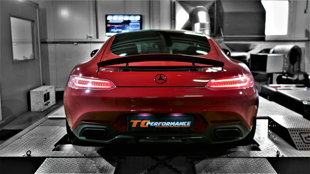 chiptuning mercedes AMG GT stage 1