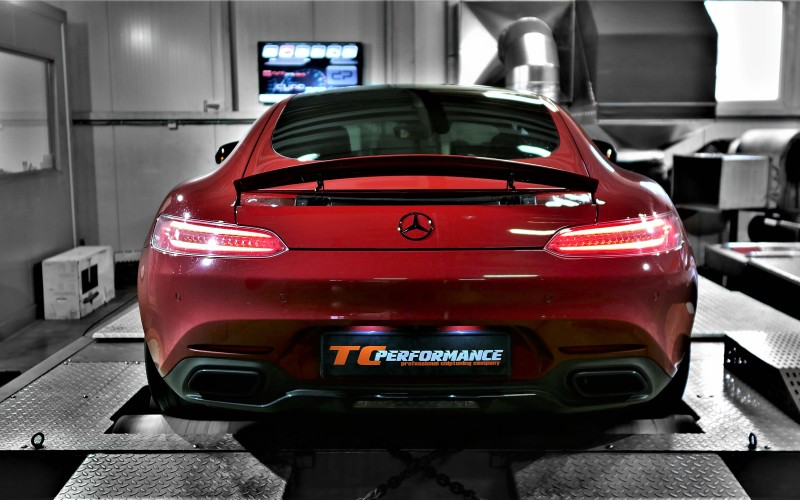 CHIPTUNING MERCEDES AMG GT 462KM C190 – STAGE 1