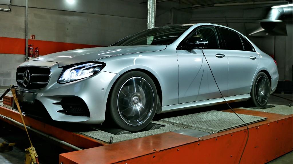 Mercedes e220d 194km większa moc