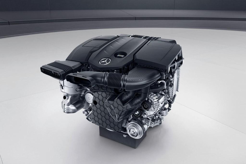 E220CDI OM654 engine