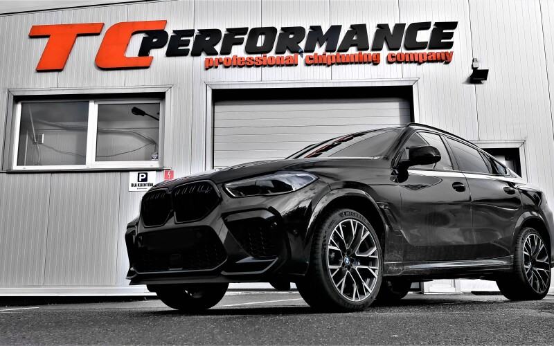 CHIPTUNING BMW X6M F96 625KM Competition – STAGE 1