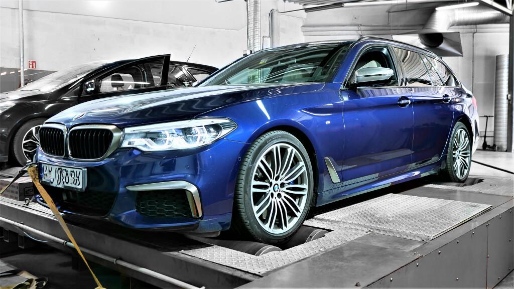 CHIPTUNING BMW G31 M550D 400KM