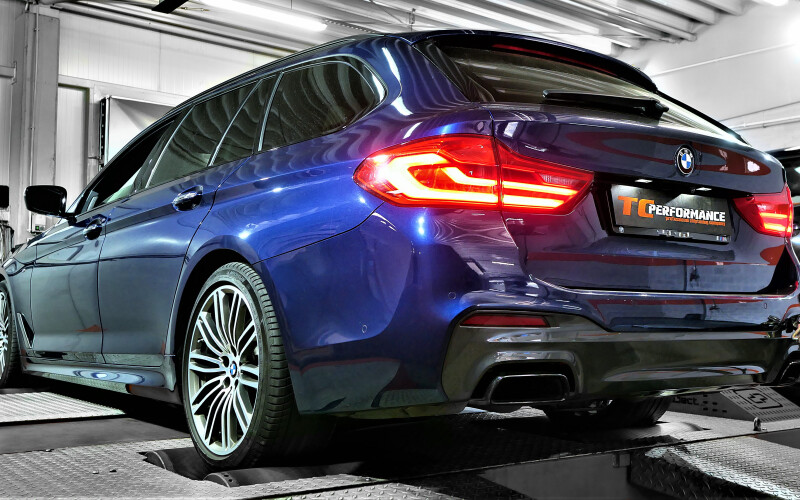 CHIPTUNING BMW G31 M550D 400KM – STAGE 1