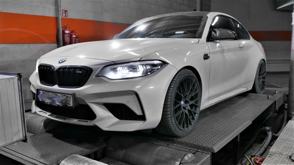 chip tuning bmw m2 410KM