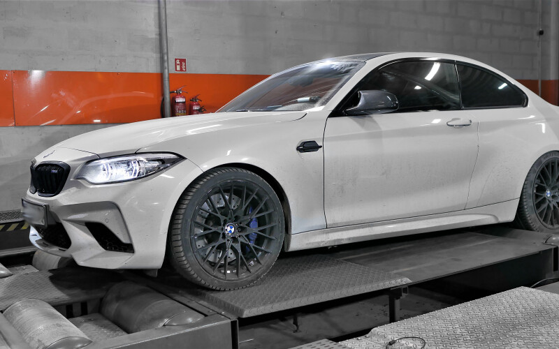 CHIPTUNING BMW M2 410KM Competition – STAGE 2